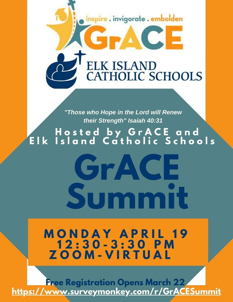 2nd Annual GrACE Summit - Registration Opens March 22, 2021